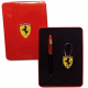 Ferrari 59412 Set Stylo bille + porte-clés maranello